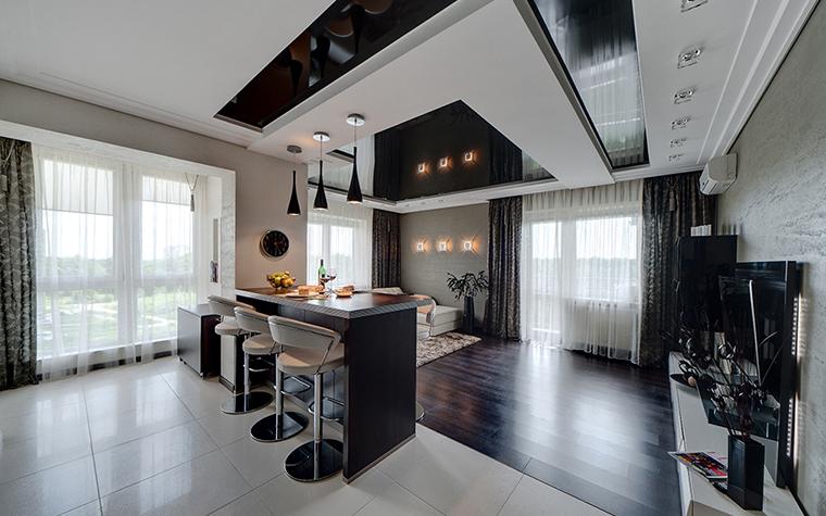 Квартира. кухня из проекта , фото №28745