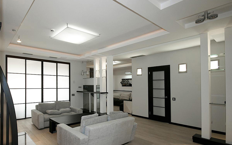 Квартира. гостиная из проекта , фото №28762