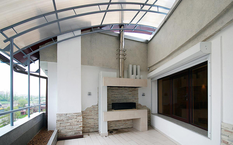 Квартира. веранда лоджия из проекта , фото №28782