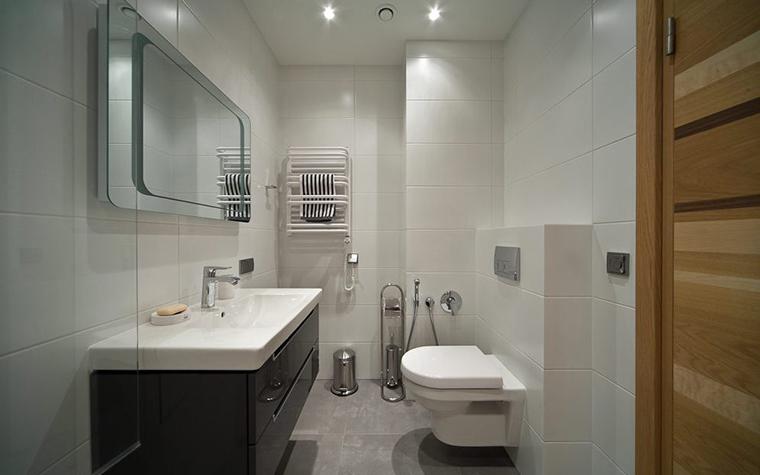 Квартира. ванная из проекта , фото №28801