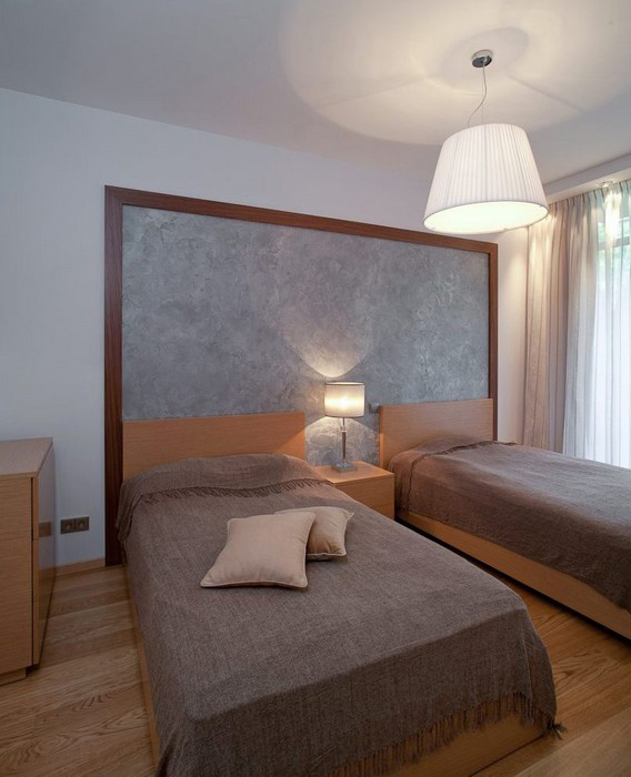 Квартира. спальня из проекта , фото №28800