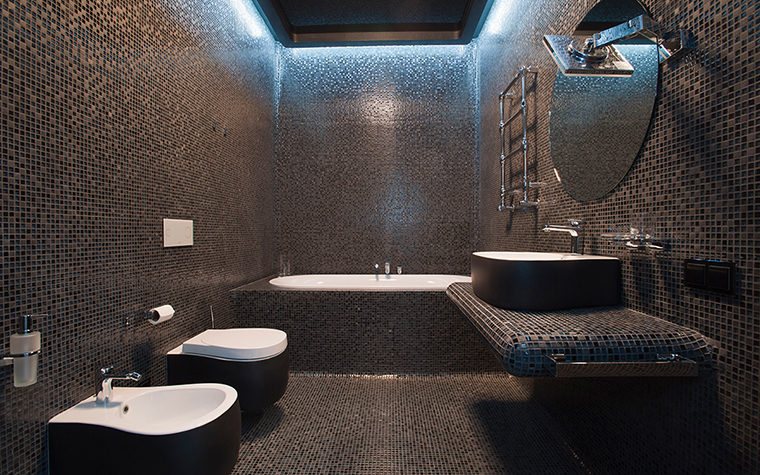 Квартира. ванная из проекта , фото №28913