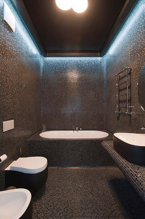 Квартира. ванная из проекта , фото №28914