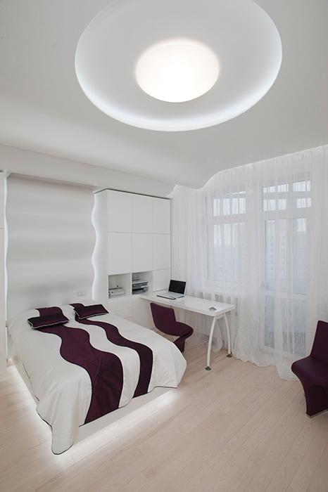 интерьер спальни - фото № 28911