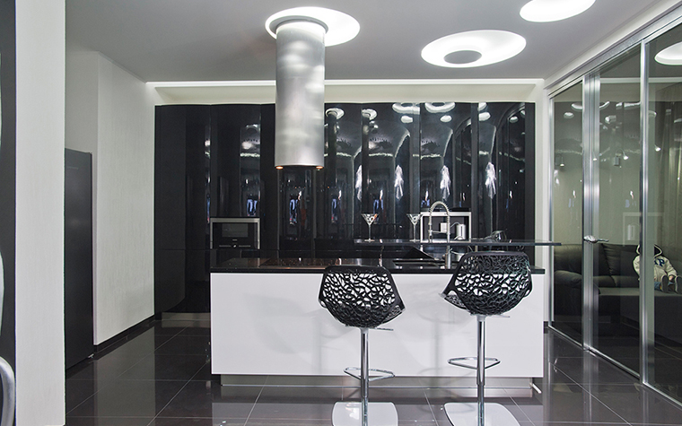 Квартира. кухня из проекта , фото №28907