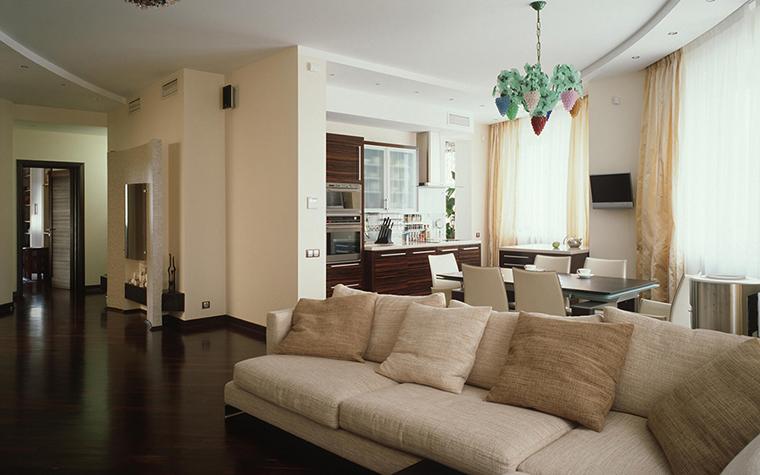 Фото № 28939 гостиная  Квартира