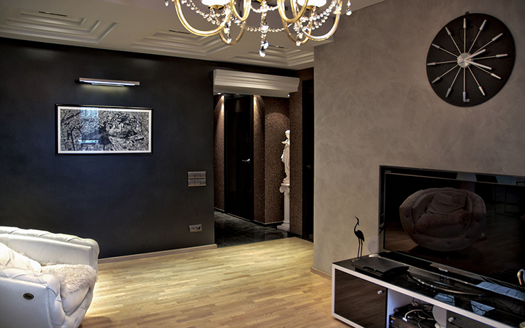 Квартира. гостиная из проекта , фото №28977