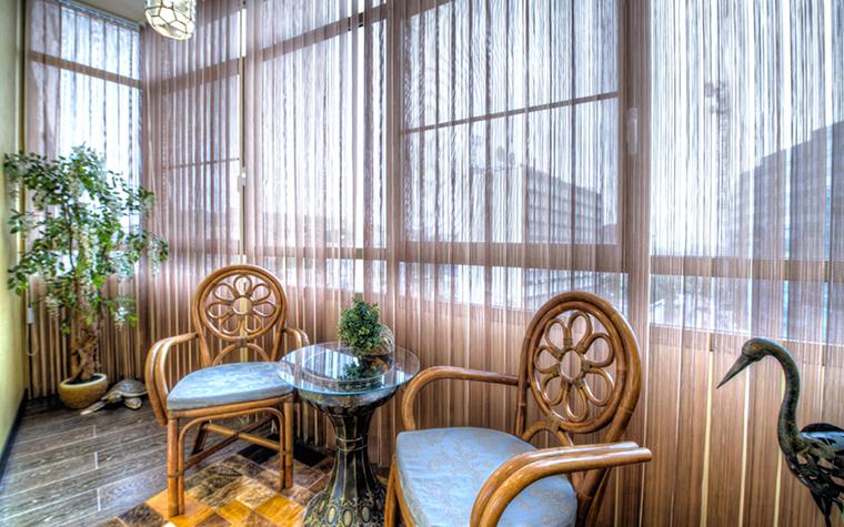 Варианты, фото дизайна балкона и лоджии