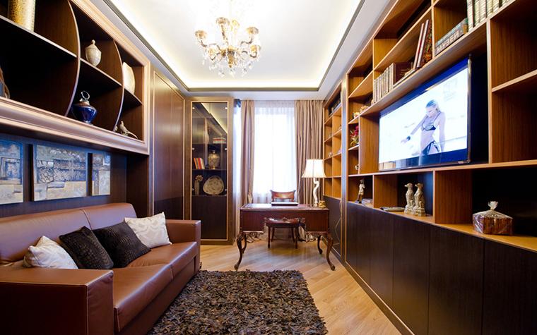 Квартира. кабинет из проекта , фото №29001