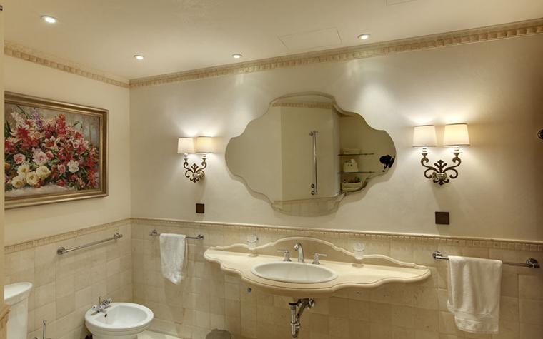 Квартира. ванная из проекта , фото №29043