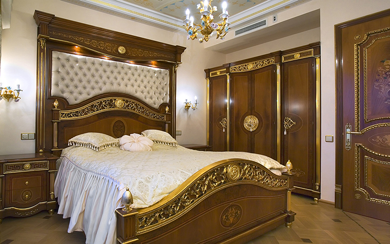 интерьер спальни - фото № 29175