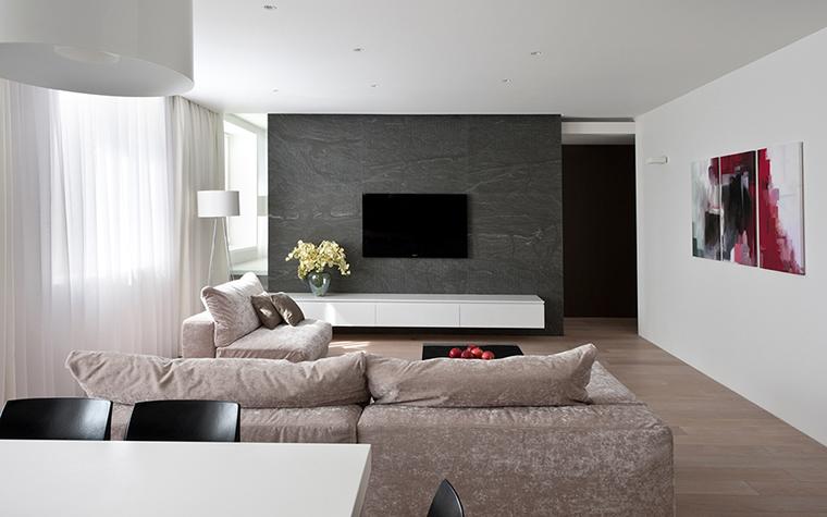 интерьер гостиной - фото № 29272