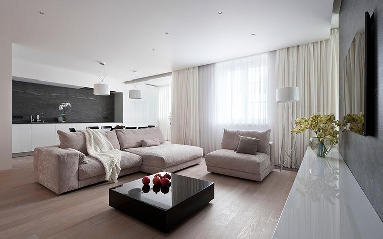 интерьер гостиной - фото № 29286