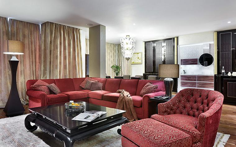 Фото № 29387 гостиная  Квартира