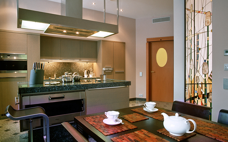 Квартира. кухня из проекта , фото №29456
