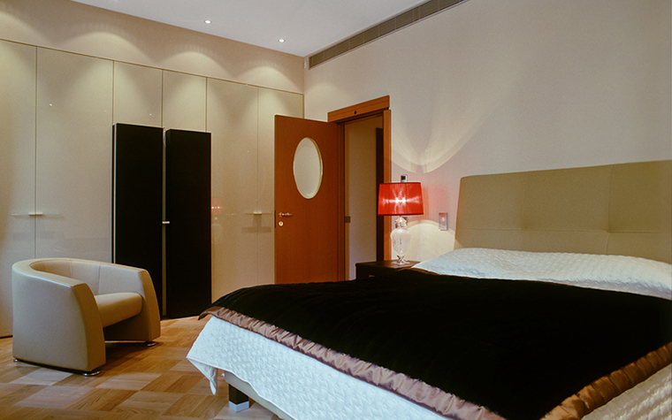 Квартира. спальня из проекта , фото №29454
