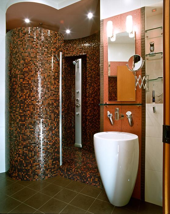 Квартира. ванная из проекта , фото №29460
