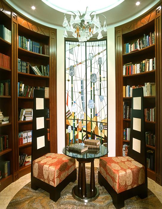 Фото № 29457 кабинет библиотека  Квартира