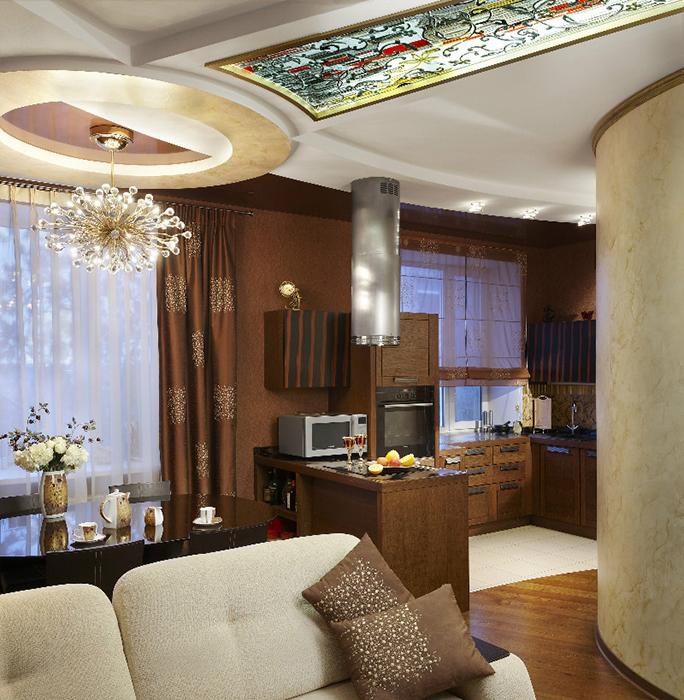 интерьер гостиной - фото № 29464