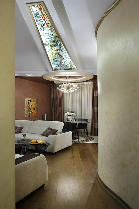 интерьер гостиной - фото № 29466