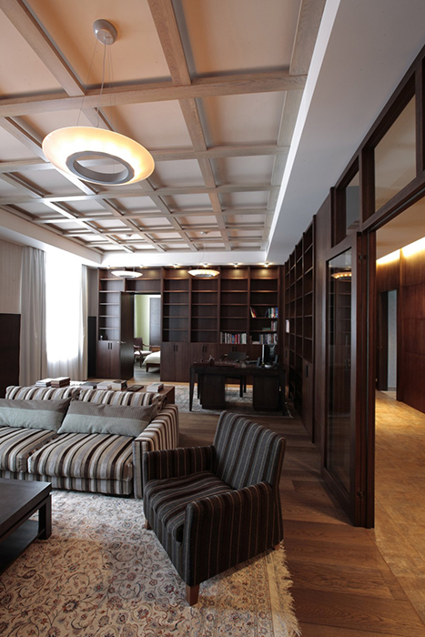 Квартира. гостиная из проекта , фото №29508
