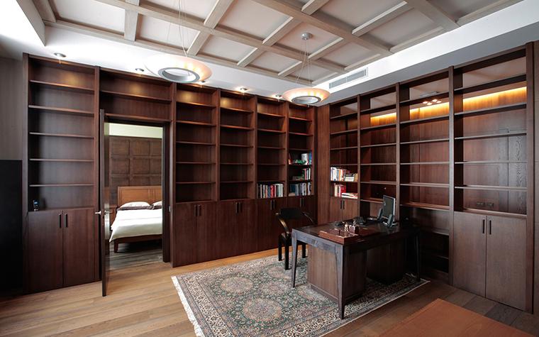 Квартира. кабинет из проекта , фото №29510