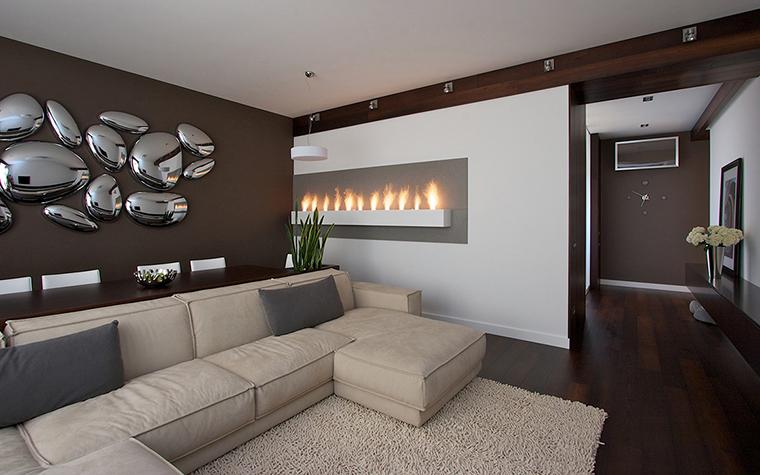 интерьер гостиной - фото № 29522
