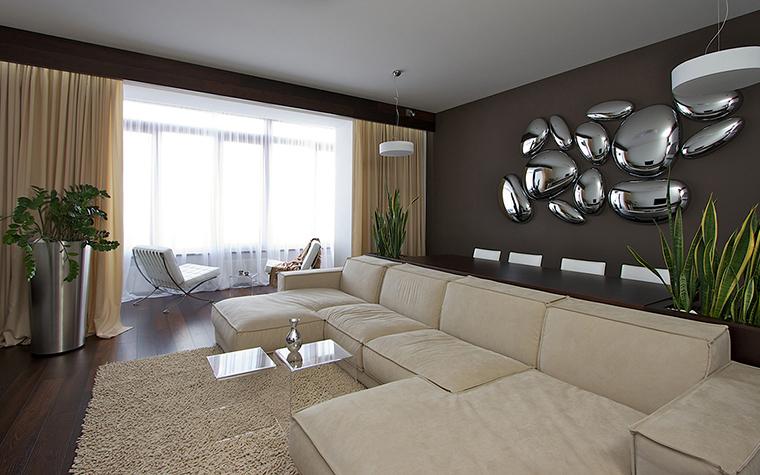 интерьер гостиной - фото № 29515