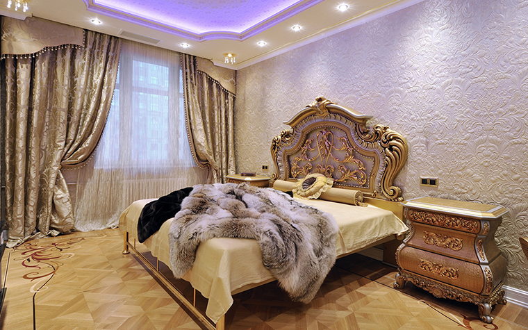 интерьер спальни - фото № 29554