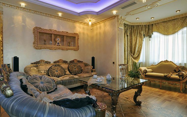 интерьер гостиной - фото № 29546