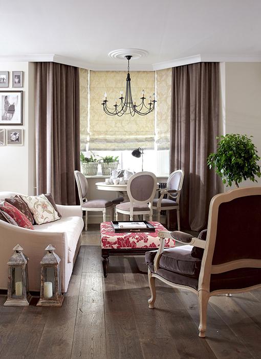 интерьер гостиной - фото № 29568