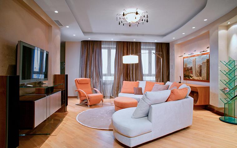 интерьер гостиной - фото № 29600