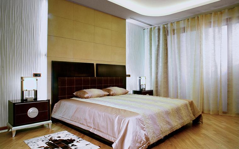 Квартира. спальня из проекта , фото №29609