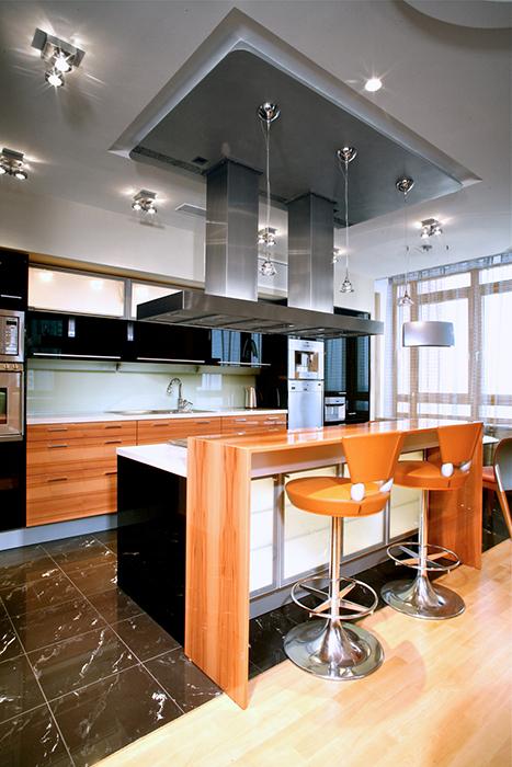 Квартира. кухня из проекта , фото №29606