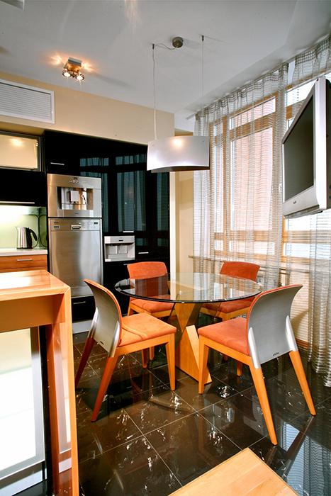 Квартира. кухня из проекта , фото №29607