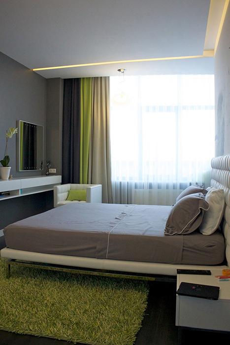 Квартира. спальня из проекта , фото №29652