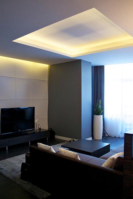 интерьер гостиной - фото № 29632