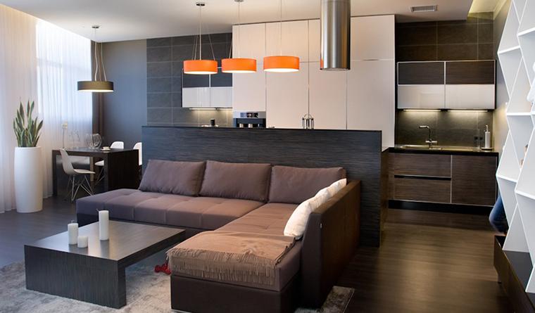 интерьер гостиной - фото № 29638