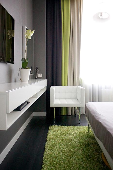 Квартира. спальня из проекта , фото №29650