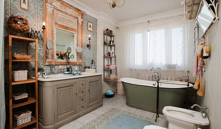 Квартира. ванная из проекта , фото №29695