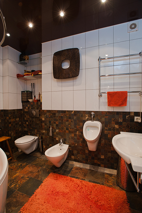 Квартира. ванная из проекта , фото №29698
