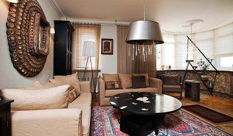 Квартира. гостиная из проекта , фото №29688