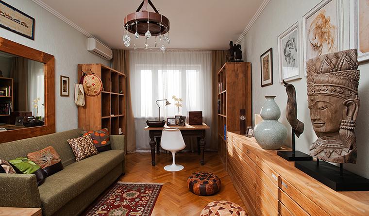 Квартира. кабинет из проекта , фото №29691