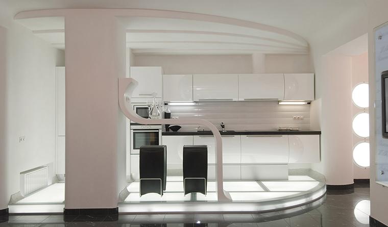 Фото № 29704 кухня  Квартира