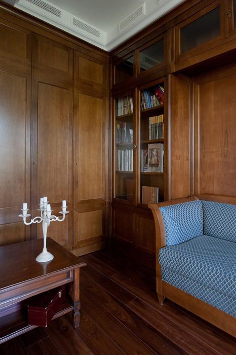 Квартира. кабинет из проекта , фото №29835