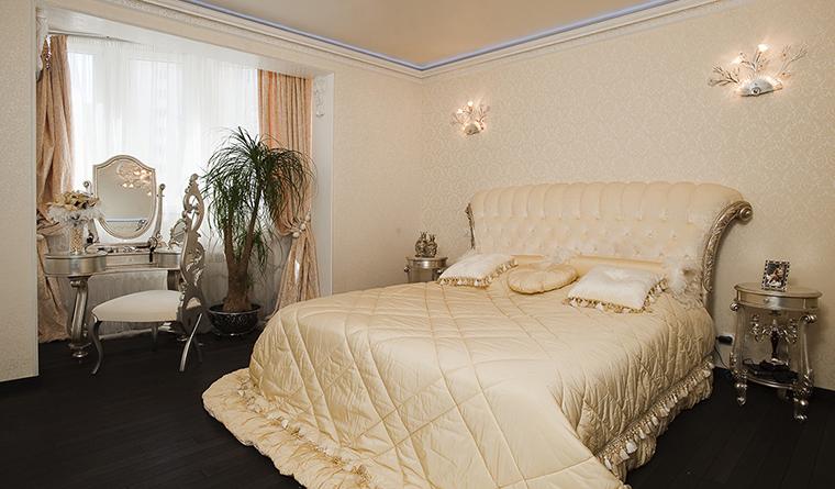 Квартира. спальня из проекта , фото №29915