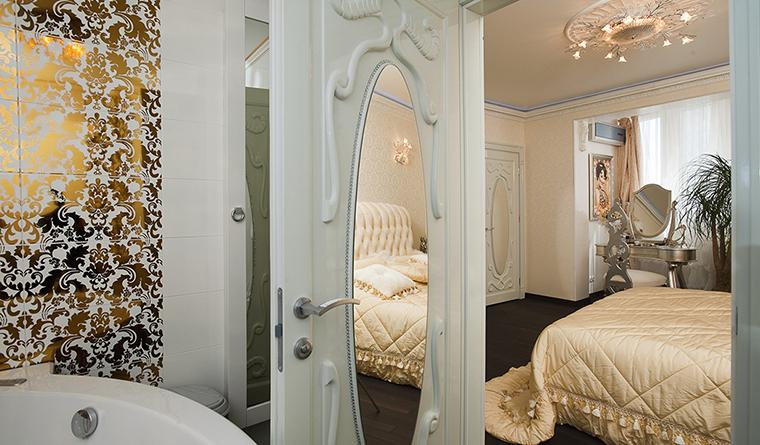 интерьер спальни - фото № 29917