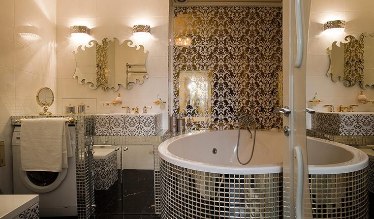 Квартира. ванная из проекта , фото №29920