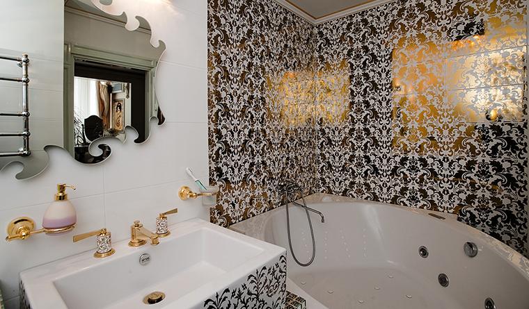 Квартира. ванная из проекта , фото №29921