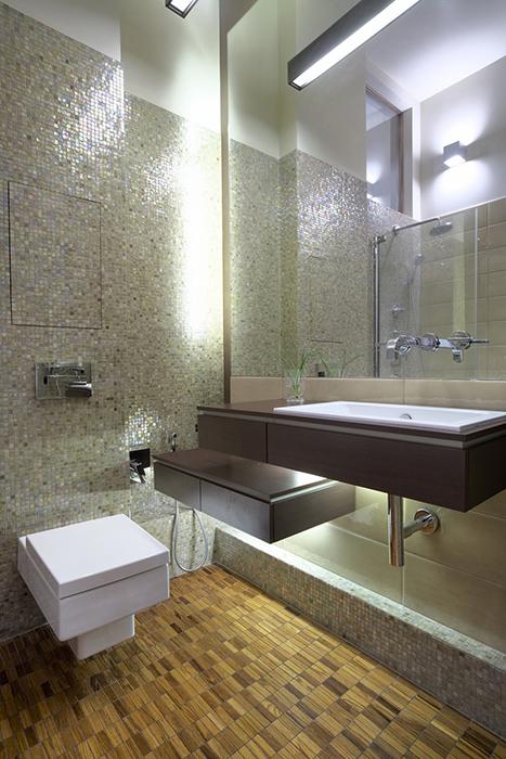 Квартира. ванная из проекта , фото №29957